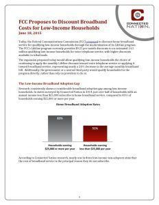 thumbnail of FCC Proposes to Discount Broadband Costs for Low-Income Households