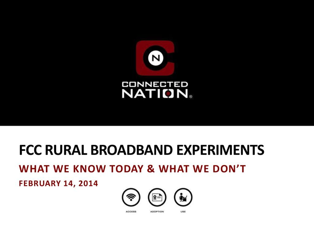 thumbnail of FCC Rural Broadband Experiments: What We Know Today & What We Don't