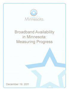 thumbnail of Broadband Availability in Minnesota: Measuring Progress