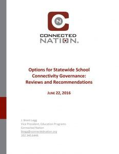thumbnail of School Connectivity Governance Structure Review and Recommendations for NV_Final